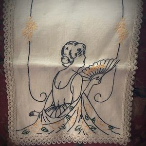 Vintage Linen Embroidery